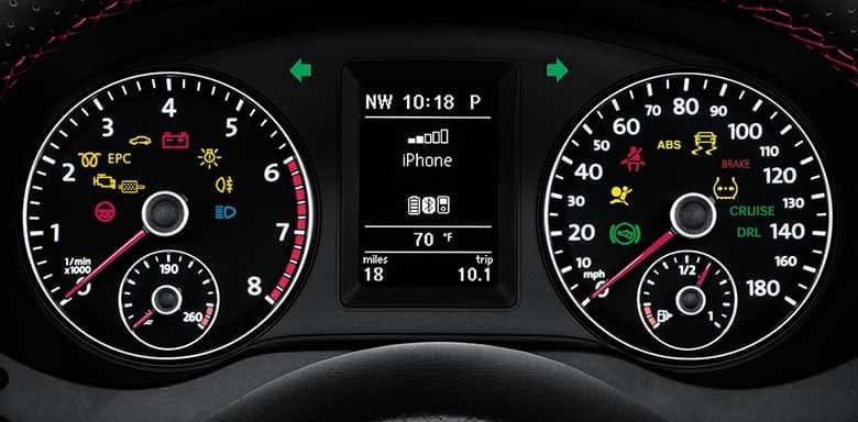 Dashboard Indicator Lights